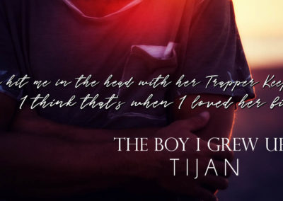 The boy I grew up with by Tijan